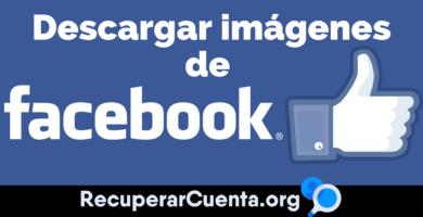 Como descargar imágenes de Facebook