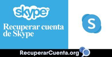 Cómo recuperar mi cuenta de Skype